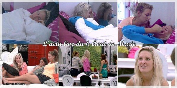 . 6 Aout 2011 : L'actu live de Marie..