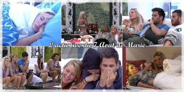 . 7 Aout 2011 : L'actu live de Marie..