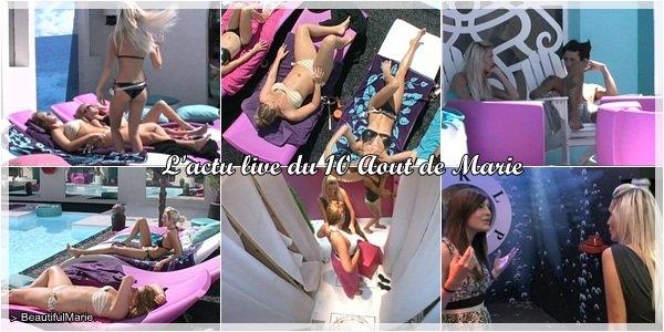 10 Aout 2011 : L'actu live de Marie..  Marie Garet de Secret Story 5 ♥