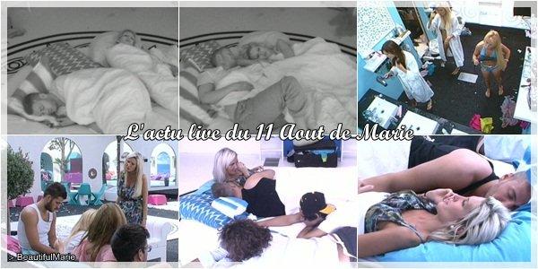 11 Aout 2011 : L'actu live de Marie..  Marie Garet de Secret Story 5 ♥
