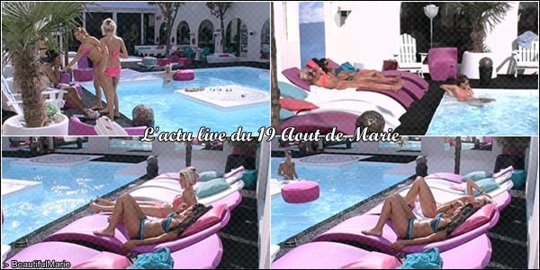 19 Aout 2011 : L'actu live de Marie. .  Marie Garet de Secret Story 5 ♥