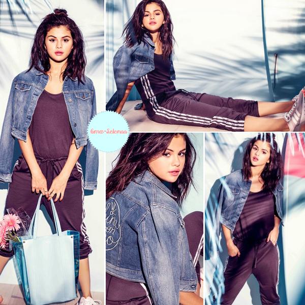 la belle Selena Gomez revient avec une nouvelle collection pour cet été! Beaucoup plus estivales et carrément plus fun. Perso je trouve que ces tenues sont juste magnifique et lui vont très bien. Les looks choisis par Selena Gomez mélangent à merveille look sportswear et tenue de ville.
