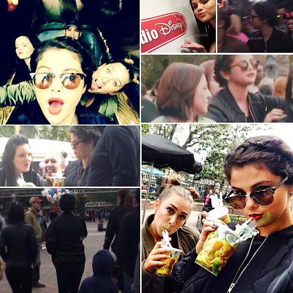 Selena Gomez était à Disney Land le 25 Avril à  Anaheim, en Californie.
