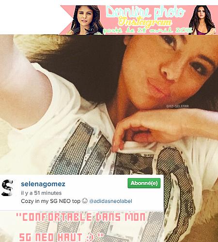 Découvrez les photos des coulisses du shooting de Selena Gomez pour adidas NEO + sa dernière photo instagram.
