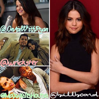 22 Juillet 2015 | Les photos des amis de Selena lui souhaitant un bon Anniversaire, dailleurs je le souhaite également un trèès joyeux Anniversaire ♥