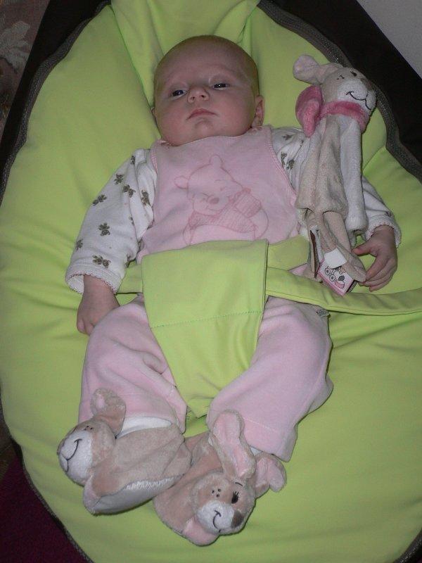 Ma tite poupée et ses chaussons oscarine.