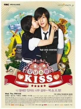 Playful Kiss.