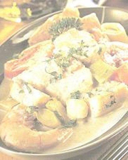 Cassolette de poissons à l'ostendaise