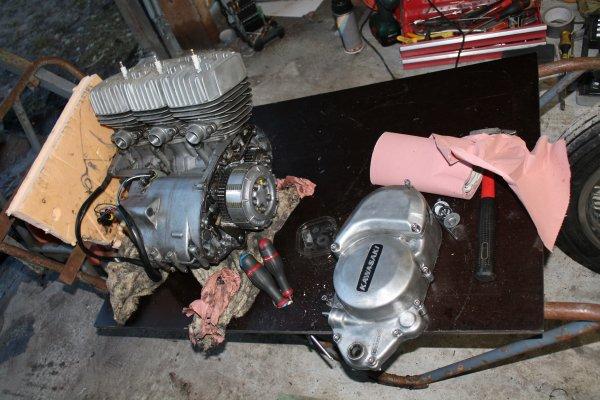 moteur rodé...moteur démonté !!