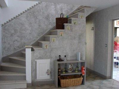 Un Mur Effet Beton La Renovation De Meubles Sans Le Decapage
