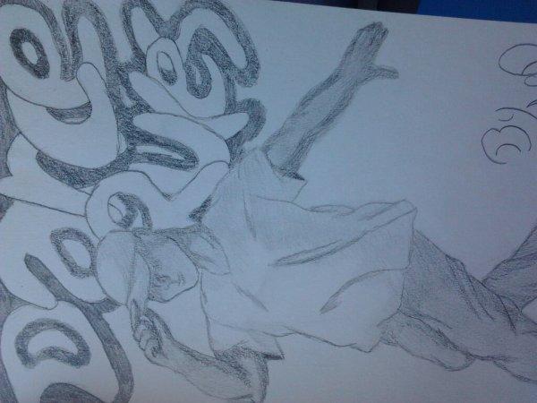 Mon dernier dessin en l'honneur de la danse