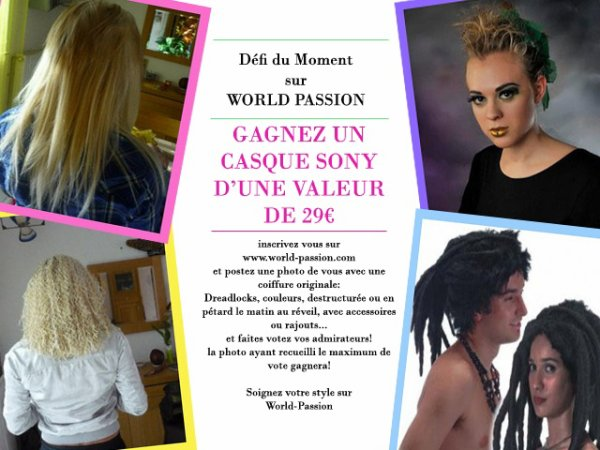 L'INSCRIPTION GRATUIT SUR WWW.WORLD-PASSION.COM