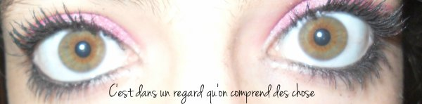 Mes yeux ;)