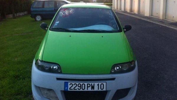 La Punto GT Turbo de Ludovic