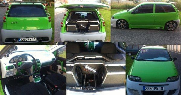 A vendre Fiat Punto GT Turbo
