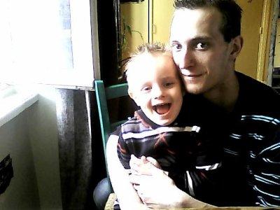 Mon fils et moi!