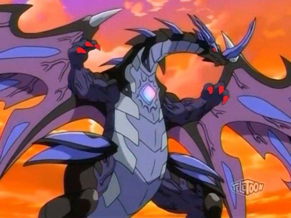 Ma forme de dragon quand la folie prend le contrôle sur moi