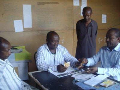 Wunamdji Ouhopvé a remis 750 000 fc à la Fédération