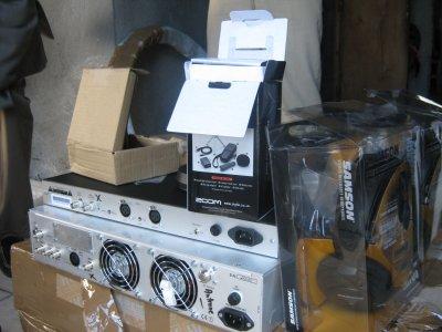 R F T: Quelques images des équipements de la Radio