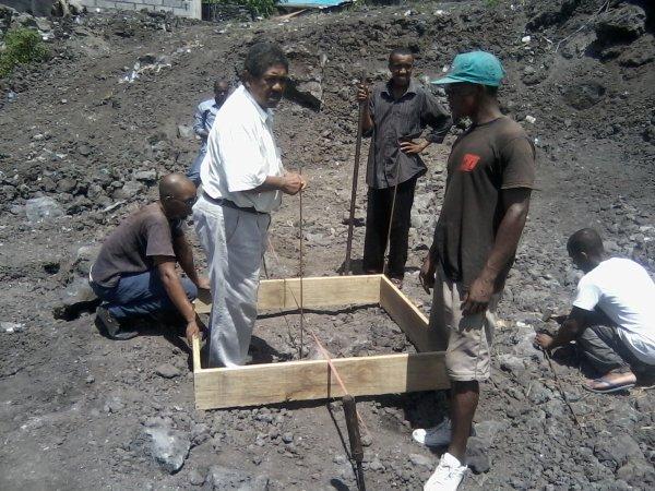 Construction de la Place Publique : Les travaux vont bon train