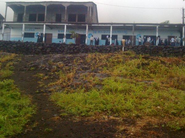 Kala fait un appel à l'endroit de tous les Tsinimoichongois pour sauver le collège.