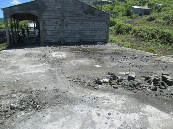 Il reste encore deux salles à construire au collège
