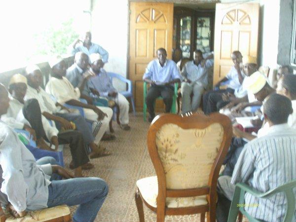 La réforme du ANDA à Tsinimoichongo à la table