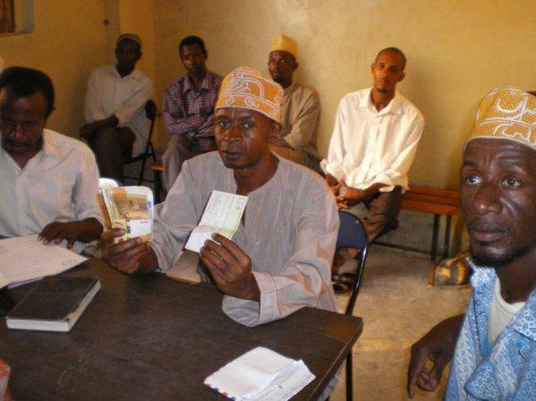 Sinya Mgongo : Zaza Kélé remet 1 000 euro à la Fédération