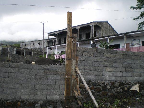 Le collège clôturé