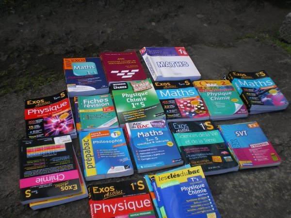 Chaharane Mogne a remis un lot de livres à la bibliothèque du vollège