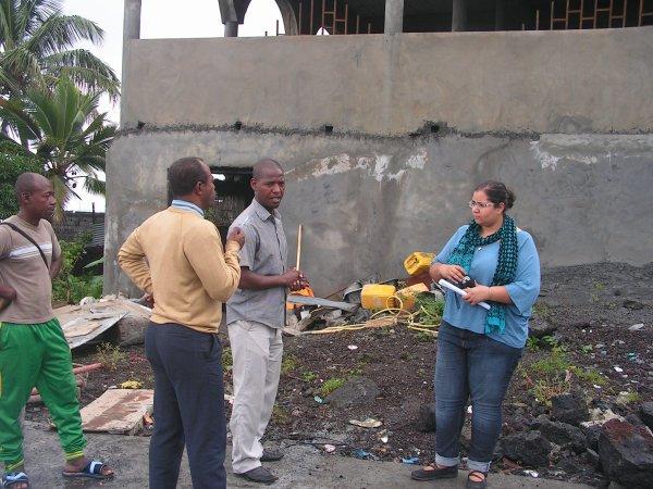 Projet Marché tsinimoichongo : Visite technique de l'ambassade de France