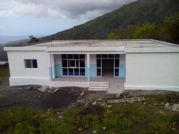 Nouveau bâtiment du poste de santé et de maternité de Tsinimoichongo