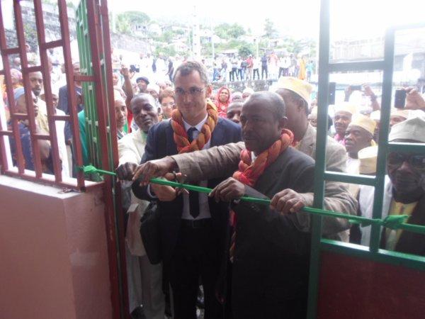 Le marché de Tsinimoichongo inauguré, une joie !