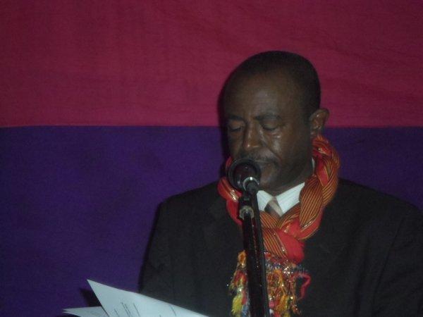 Inauguration Marché Tsinimoichongo Discours du Président de la FAT