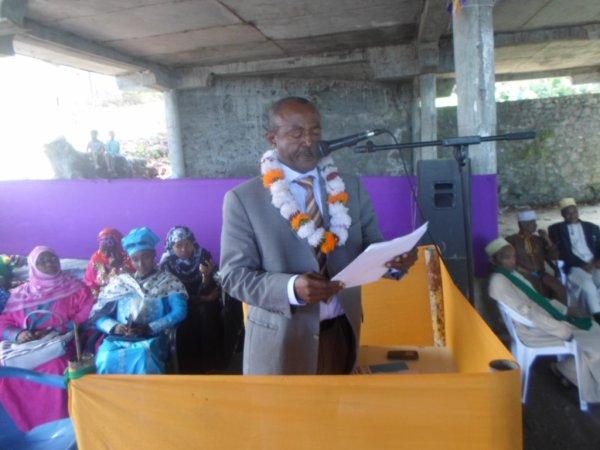 Inauguration Laboratoire de Tsinimoichongo : Discours du Président de la FAT