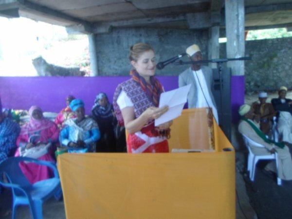 Inauguration Laboratoire de Tsinimoichongo : Discours de l'ambassadeur d'Australie