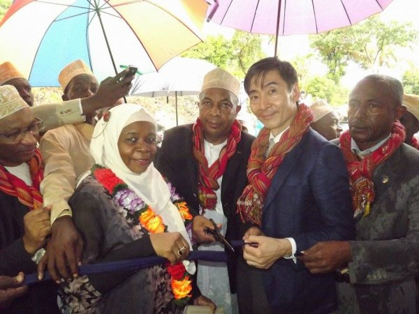 Inauguration Projets Japon à Tsinimoichongo : Allocution de Monsieur l'Ambassadeur du Japon, Ichiro Ogasawara