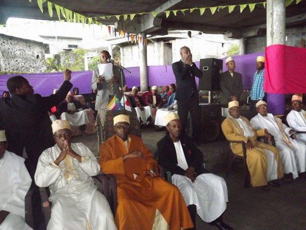 Inauguration Maternité et EPP Discours du Président de la FAT Mr Djibaba ISSIHAKA
