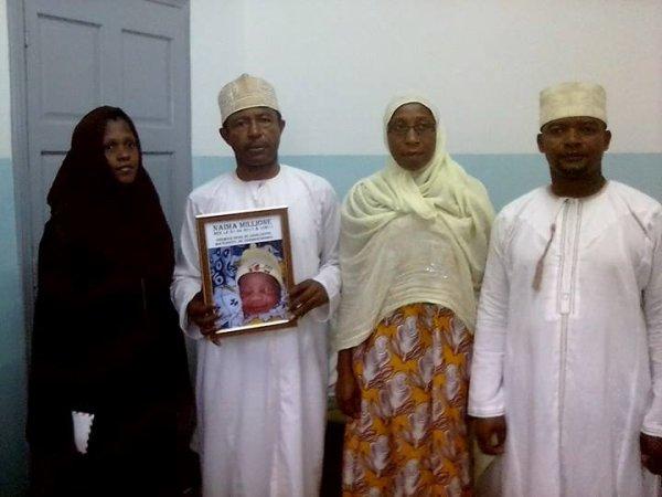 Premier Bébé né dans le nouveau bâtiment de la maternité de Tsinimoichongo.