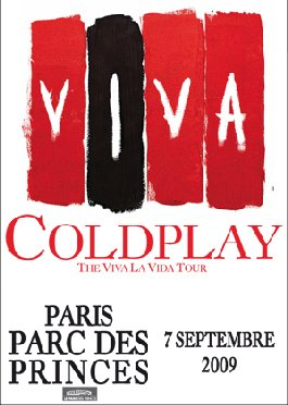 NEWS >>>>> Coldplay en concert au Parc des Princes !!!!