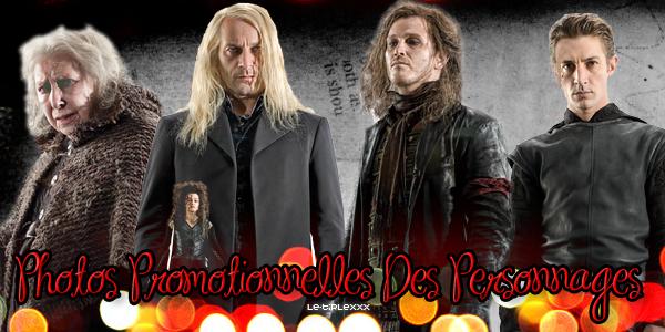 Nouvelles Images Promotionnelles Des Personnages D'Harry Potter 7  Créa