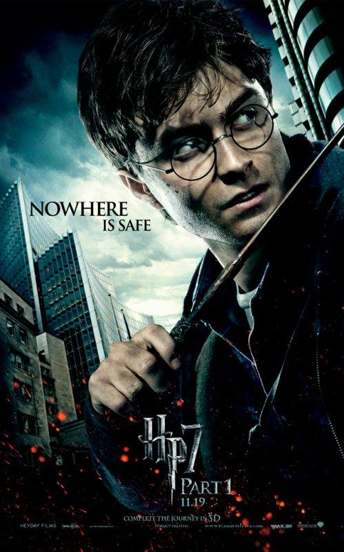 Qautre Nouveaux Posters Inédits D'Harry Potter Et Les Reliques De La Mort