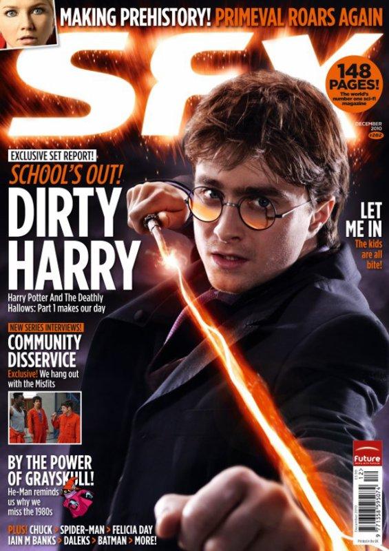 Quinze Nouvelles Images D'Harry Potter 7 + Nouvelle Couverture Du Magazine SFX avec Harry