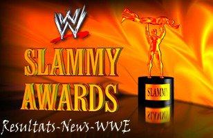 Raw spécial Slammy Awards : Catégories et nominés