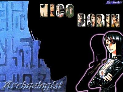 Presentation de Nico Robin