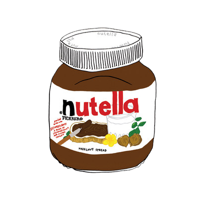 Un jour, le NUTELLA dominera le monde.