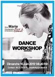 STAGE DANCE WORKSHOP - DIMANCHE 16 JUIN de 14h30 à 16h