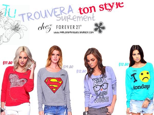 FOREVER 21 : Le Shop Parfait Pour l'hiver !