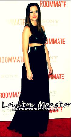 Leighton Meester: 'The Roommate' Premiere! Un autre FLOP :(