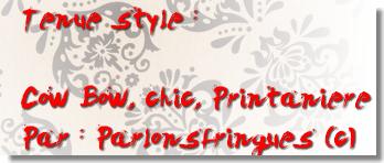 Coucou ! J'ai participé a un concours de mode ( c'est mon 1er )  Et Bah j'aimerais bien que vous votez pour moi ! Ca serait un honneur pour moi ! Desolé mais le concours interdit les votes contre les commentaires ! :/ Donc .... Soyez indulgent quand meme et laissez vos commentaires sur ma tenue ici et  sur le blog du concours ! http://mode-cie.skyrock.com/